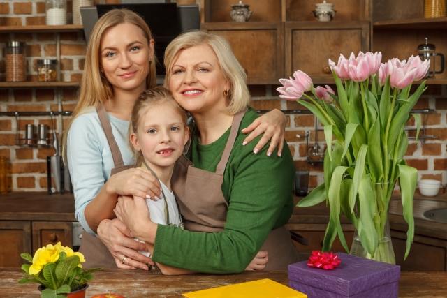 遺伝を受け継ぐ家族
