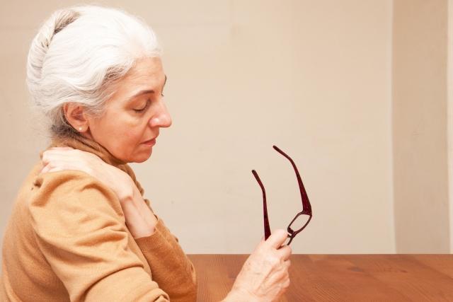 年齢を重ねた女性